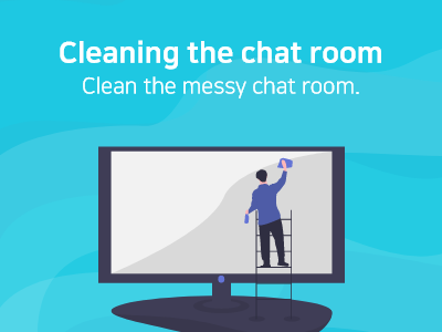 Read more about the article Cleaning the chat room